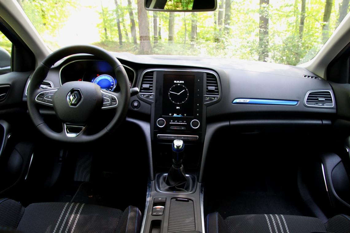 Autohaus Am Kirchberg Megane Grandtour Cockpit