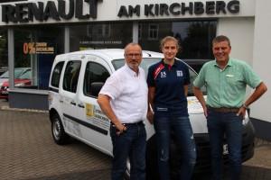AutohausAmKirchberg Sponsoring Fußball Vereinswagen